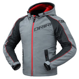 Jacket: DRIRIDER ATOMIC HOODY Grey