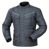 Jacket: DRIRIDER COMPASS 3 Black/Black