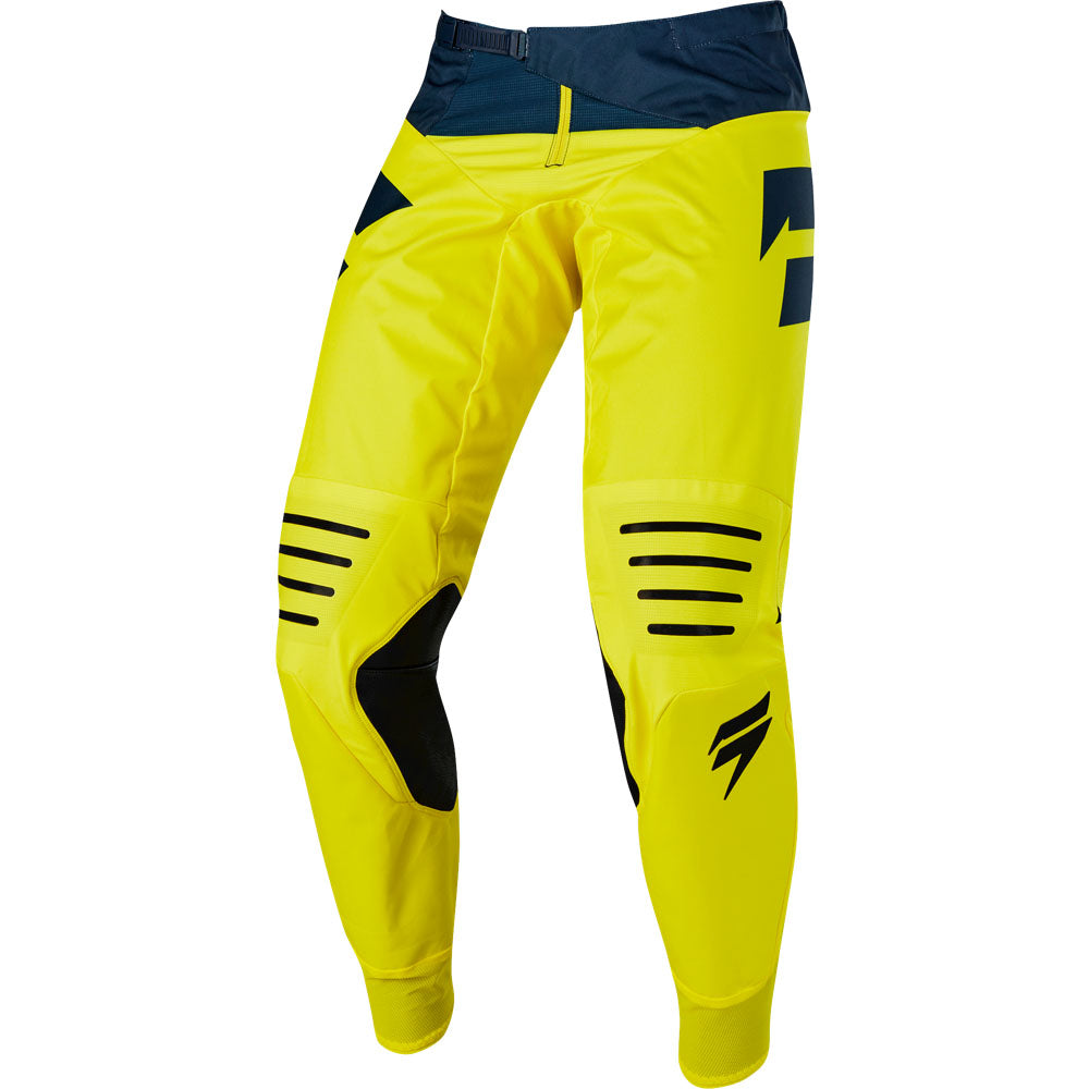 Pants: SHIFT 2019 3LACK LABEL MAINLINE Yellow/Navy