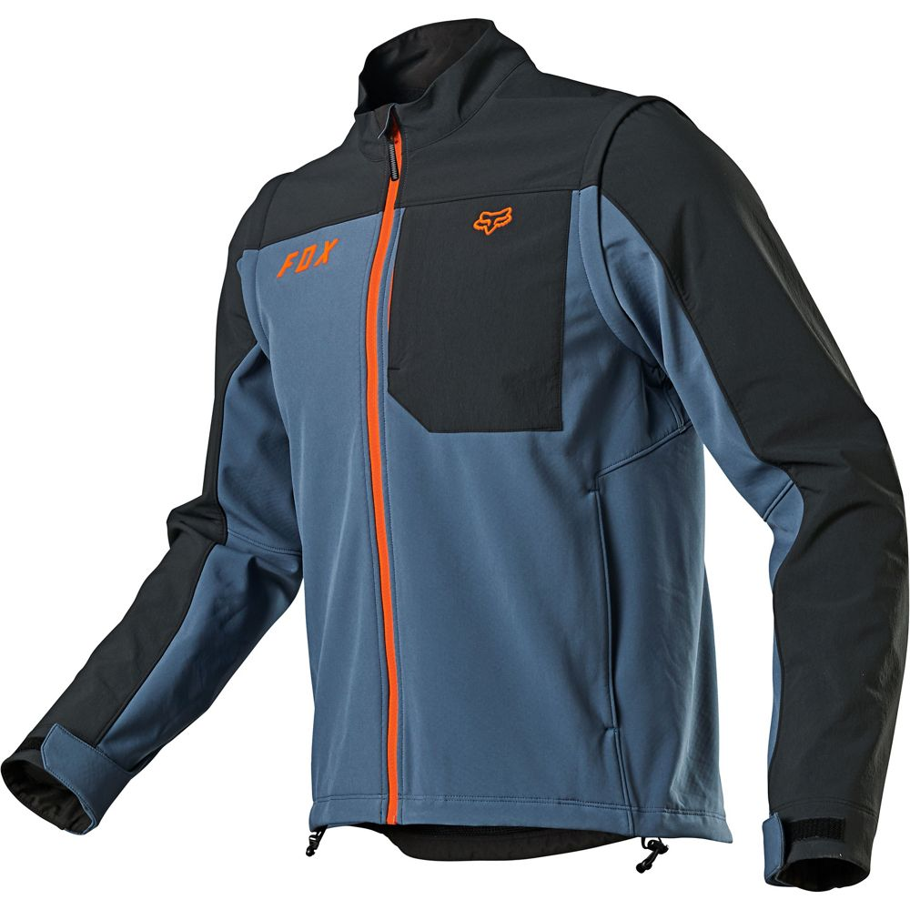 Jacket: FOX 2021 LEGION SOFTSHELL Blue Steel