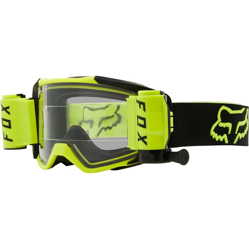 Goggles: FOX 2021 VUE STRAY ROLL OFF FloYellow