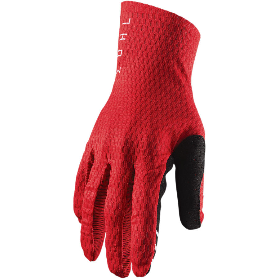 Gloves: THOR 2020 AGILE Red