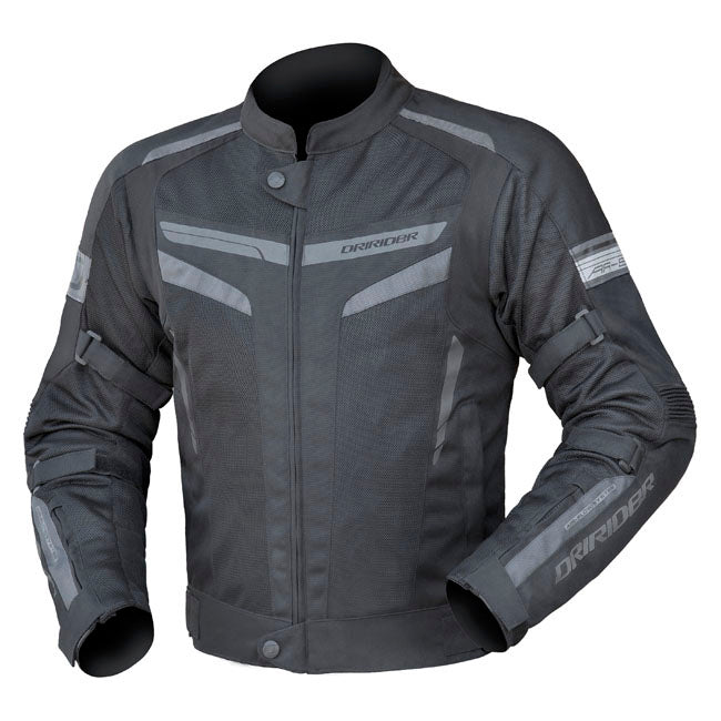 Jacket: DRIRIDER AIR-RIDE 5 Black/Grey