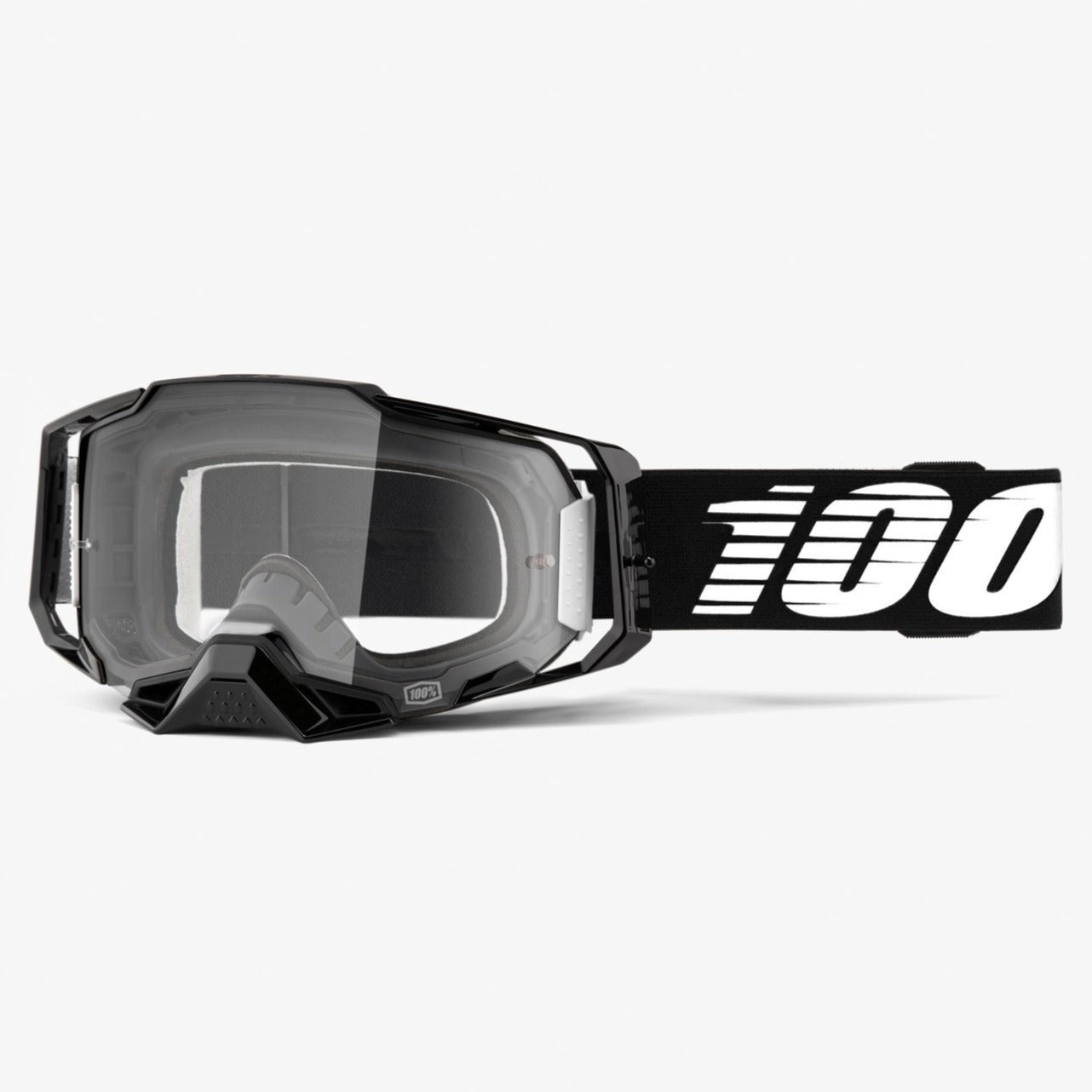 Goggles: 100% ARMEGA Black Clear