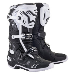 Boots: ALPINESTARS TECH 10 Black/White