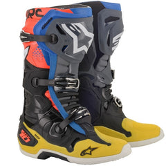 Boots: ALPINESTARS TECH 10 Black/FluYell/Blue