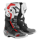 Boots: ALPINESTARS TECH 10 SUPERVENTED Blck/Wht/Gry/Red