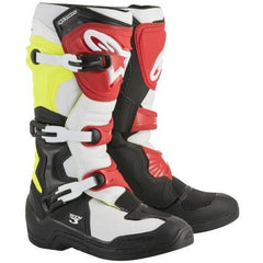 Boots: ALPINESTARS TECH 3 Black/White/Fluro Yel/Red