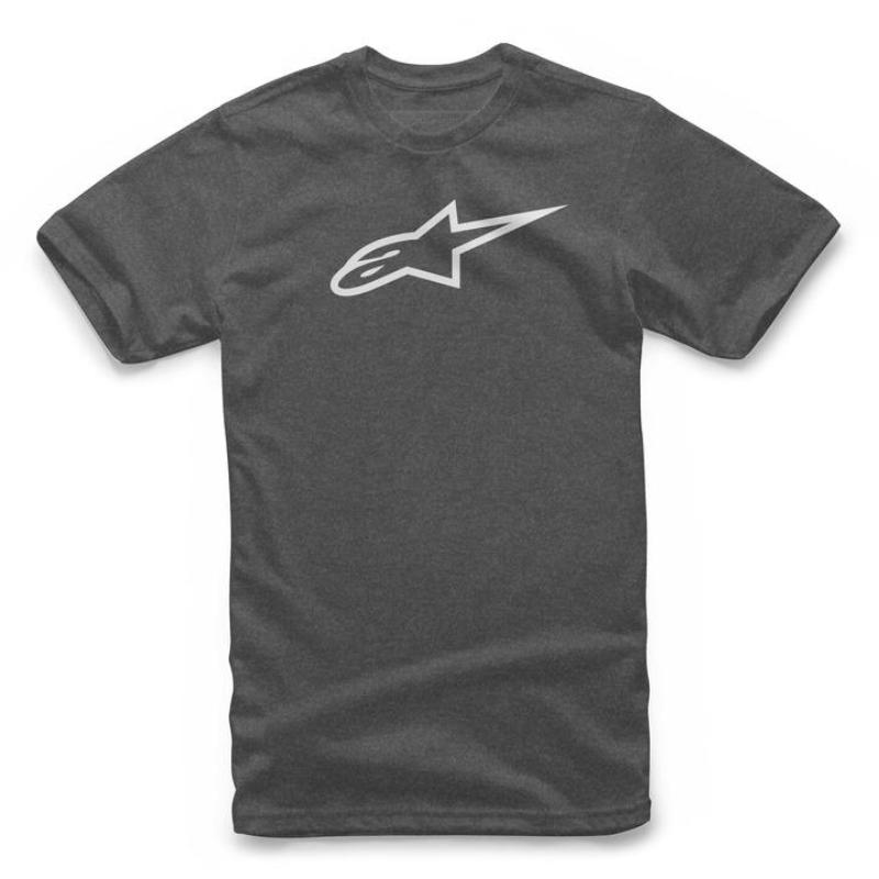 Tee: ALPINESTARS AGELESS Charcoal/Heath/White