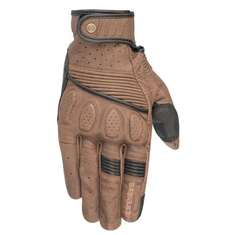 Gloves: ALPINESTARS CRAZY EIGHT Brown/Black