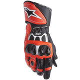 Gloves: ALPINESTARS GP PLUS R Black/White/FluRed