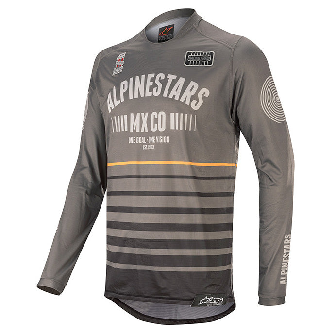 Jersey: ALPINESTARS 2020 RACER TECH FLAGSHIP Blk/DarkGrey/Orange