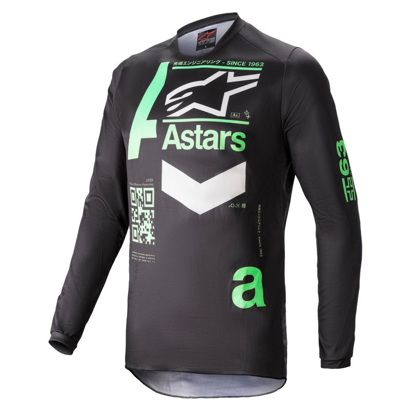Jersey: ALPINESTARS 2021 FLUID CHASER Black/Mint