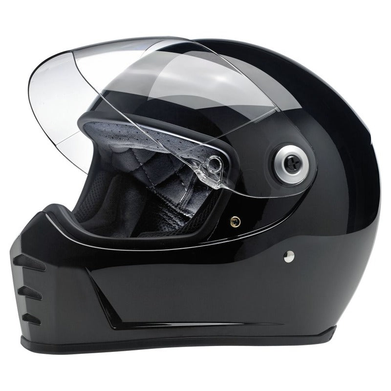 Helmet: BILTWELL LANE SPLITTER ECE Gloss Black