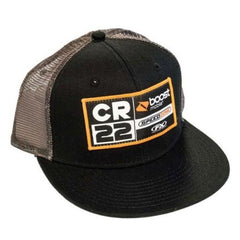 Hat: FACTORY EFFEX CR22 TEAM Snapback Mesh Black/Grey