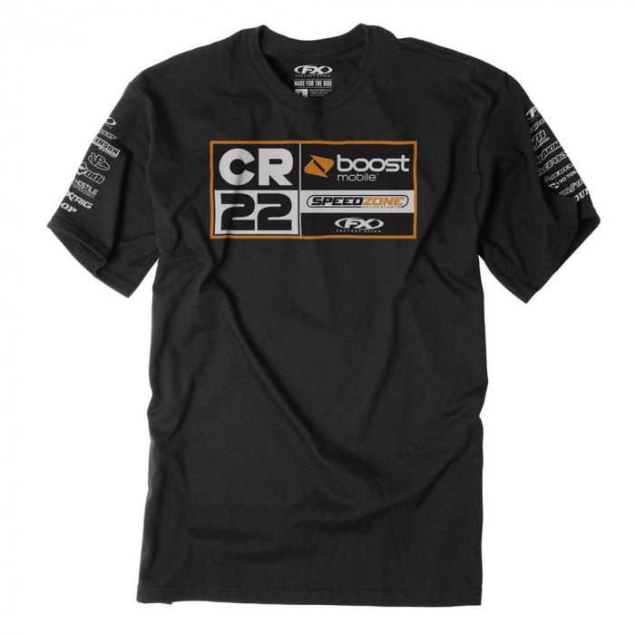 Tee: FACTORY EFFEX CR22 TEAM Black