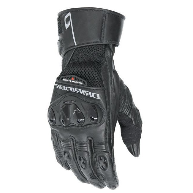 Gloves: DRIRIDER Ladies AERO MESH 2 Black