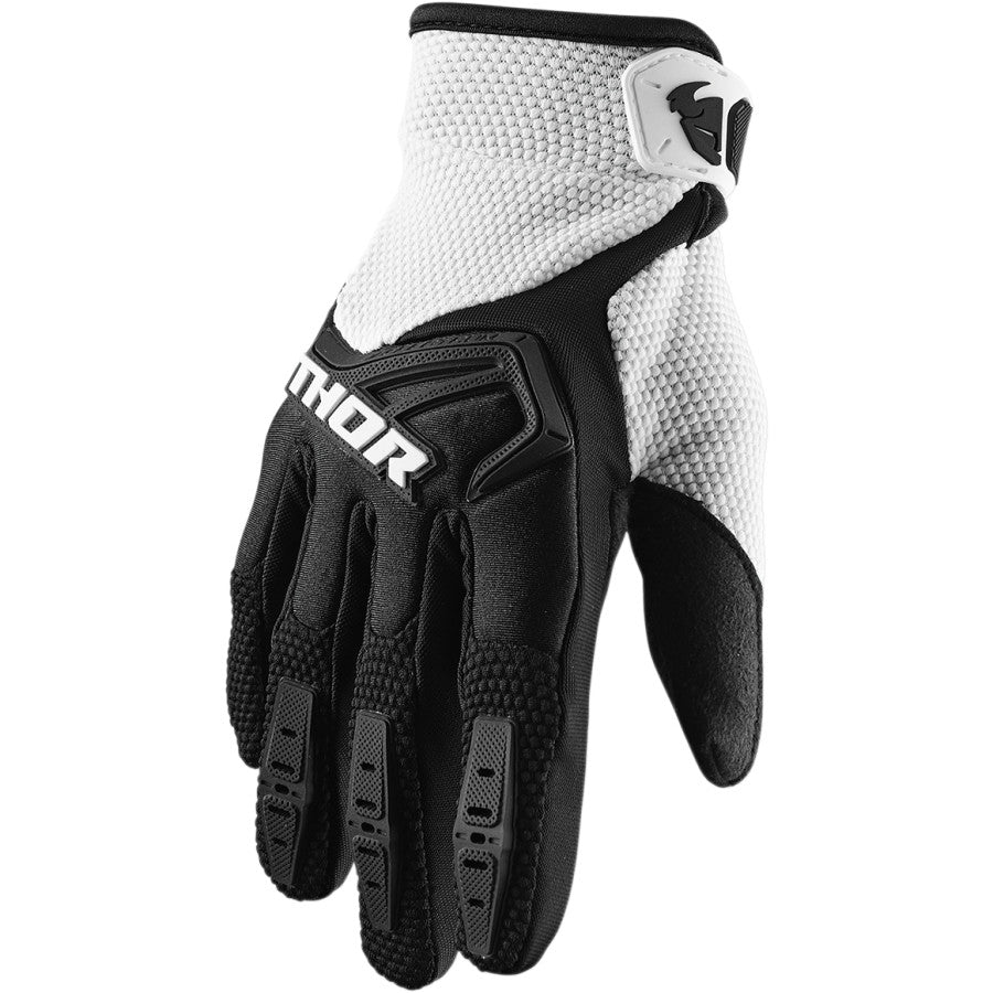 Gloves: THOR 2020 SPECTRUM Black/White