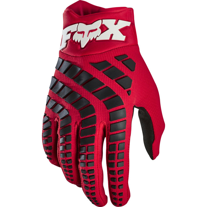 Gloves: FOX 2020 360 Flame Red