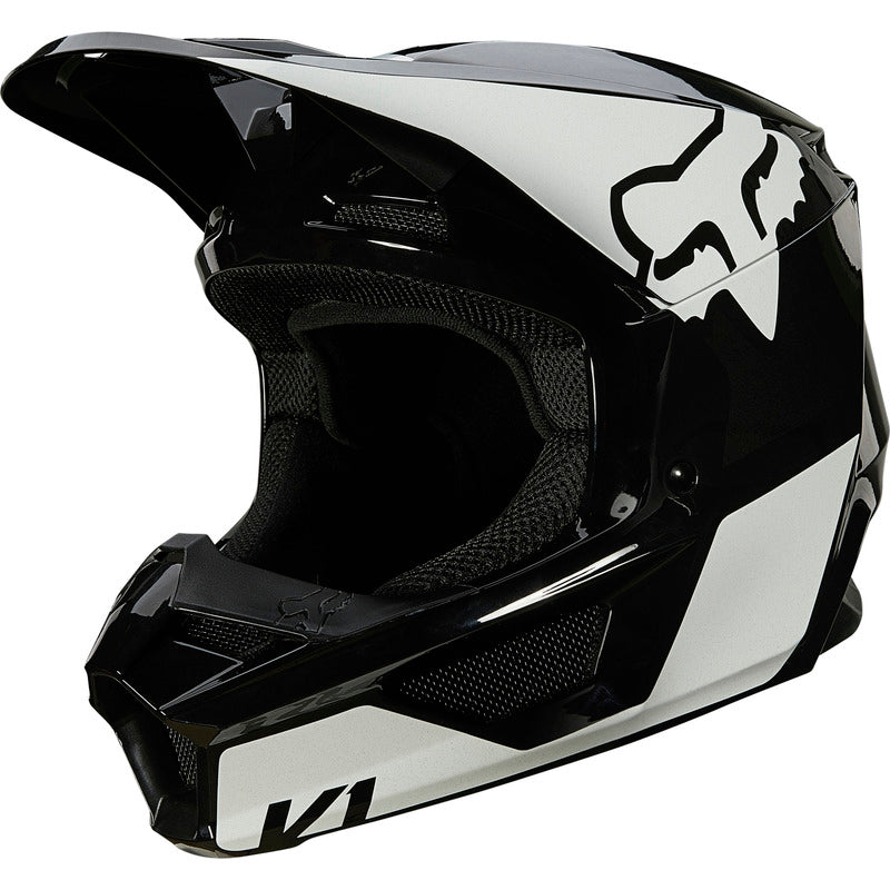 Helmet: FOX 2021 V1 REVN ECE Black/White