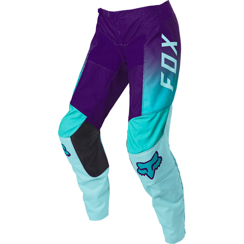Pants: FOX 2021 Youth GIRLS 180 VOKE Aqua