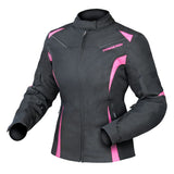 Jacket: DRIRIDER Ladies JEWEL 2 AIR Black/Pink
