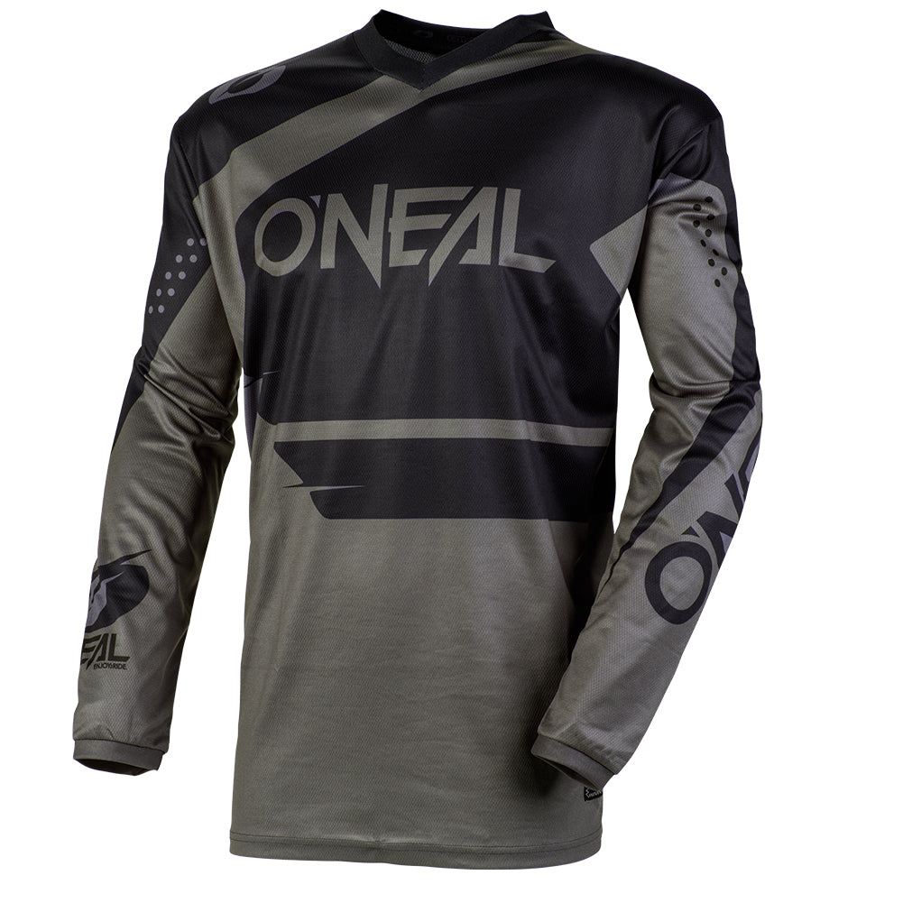 Jersey: ONEAL 2020 YOUTH ELEMENT RACEWEAR Black/Grey