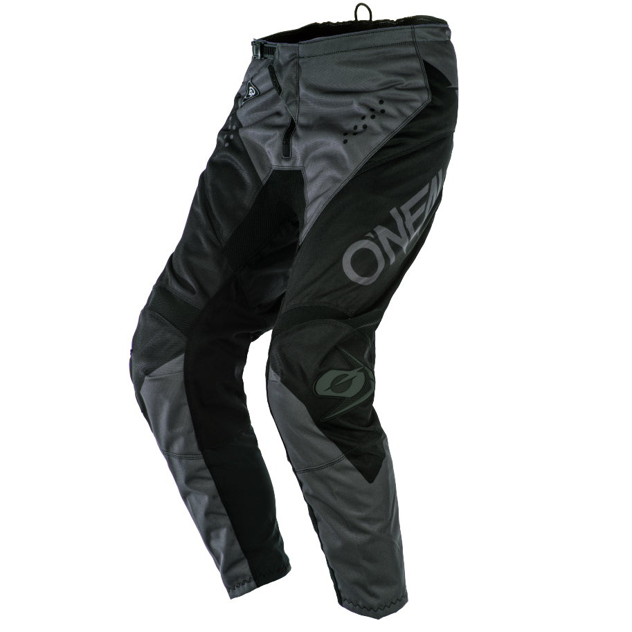 Pants: ONEAL 2020 YOUTH ELEMENT RACEWEAR Black/Grey