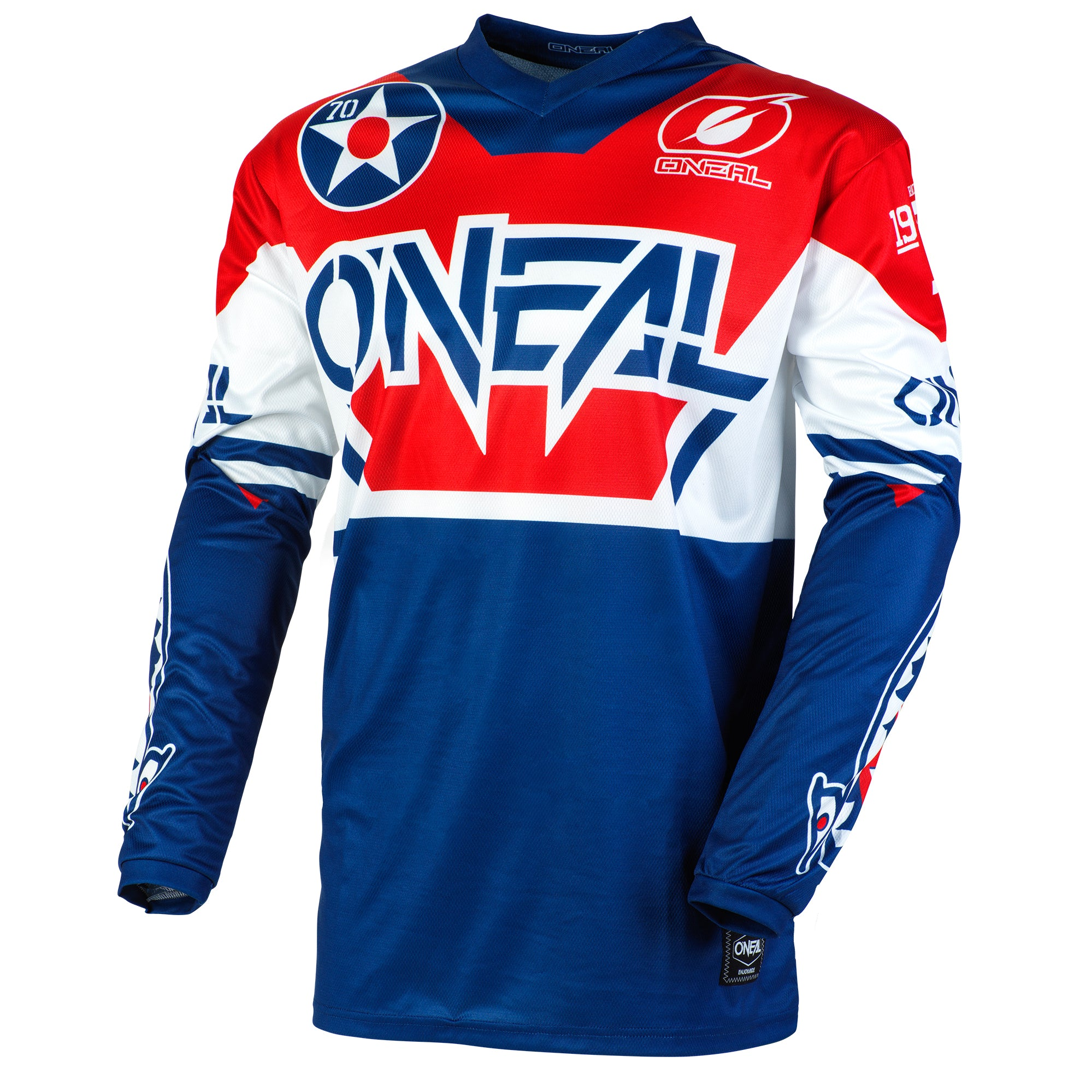 Jersey: ONEAL 2020 ELEMENT WARHAWK Blue/Red