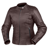 Jacket: DRIRIDER Ladies PARIS LEATHER Plum