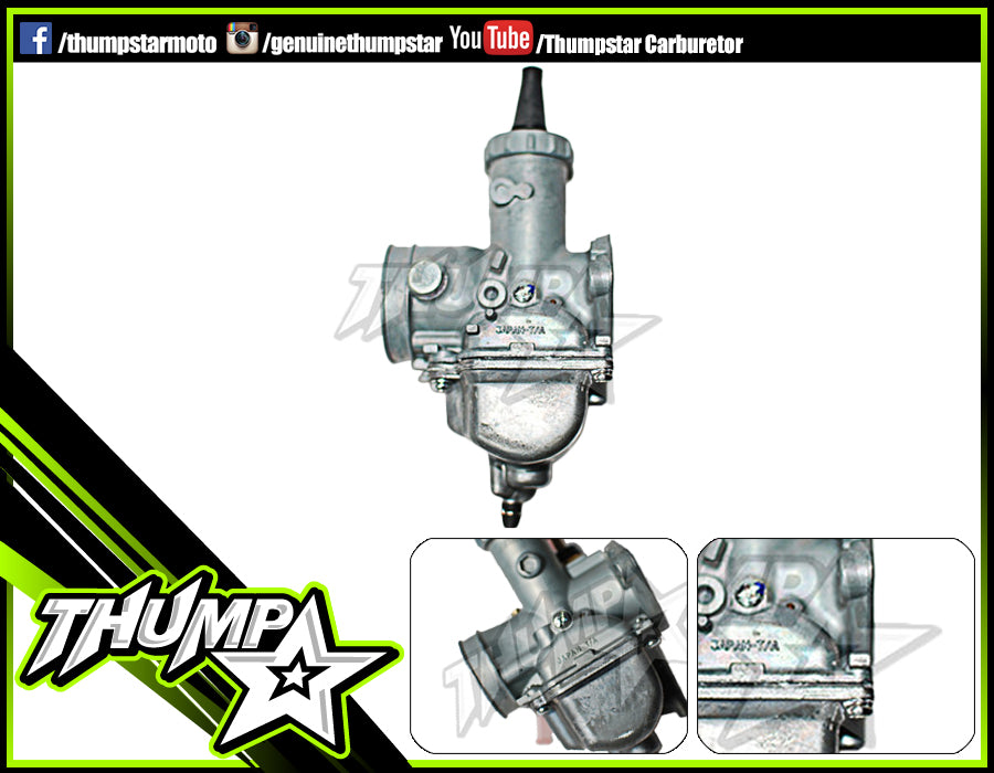 Carby: THUMPSTAR MIKUNI VM16 (19mm) CARBURETTOR
