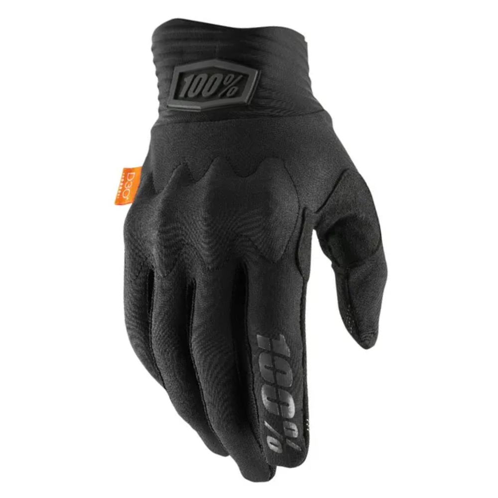 Gloves: 100% COGNITO Black/Charcoal