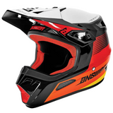 Helmet: ANSWER 2021 Youth SWISH AR-1 Red/Org/Silver