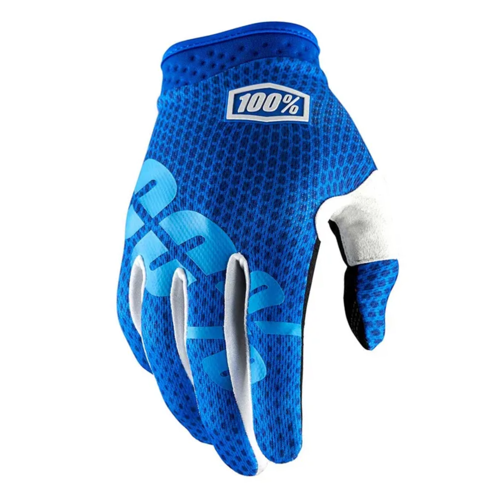 Gloves: 100% iTRACK Blue