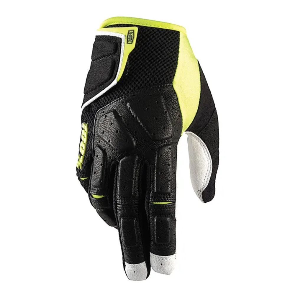 Gloves: 100% SIMI MTB Black/Lime