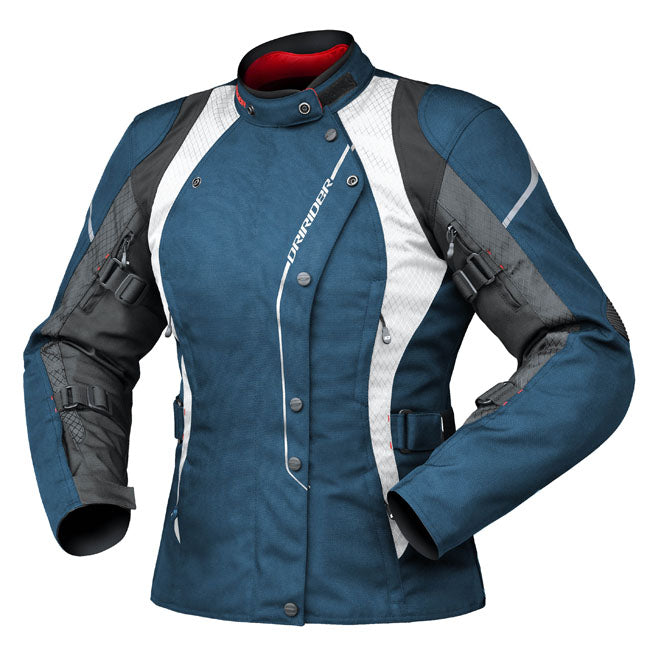 Jacket: DRIRIDER Ladies VIVID 2 Atlantic Blue