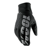 Gloves: 100% BRISKER HYDROMATIC Black
