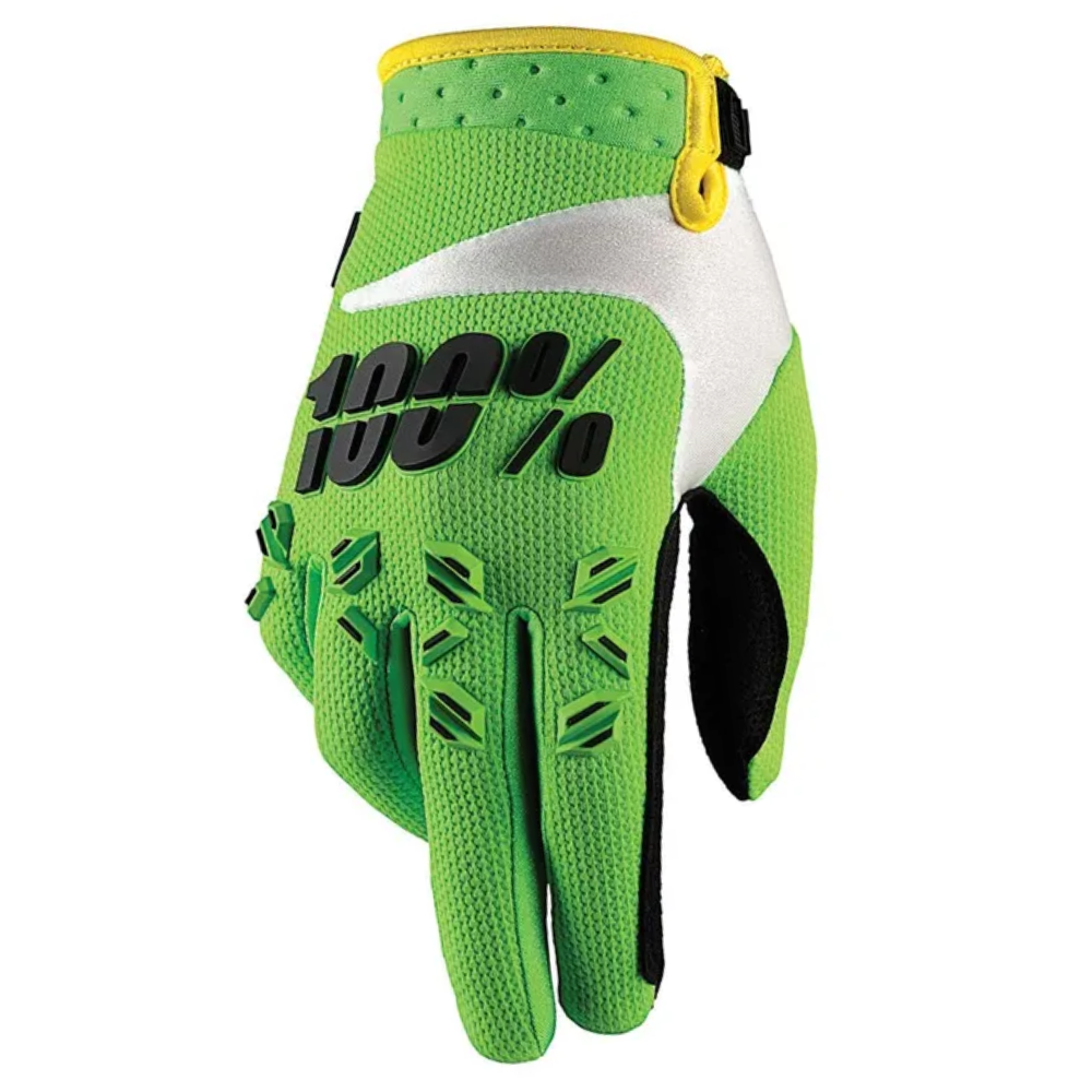 Gloves: 100% AIRMATIC Lime