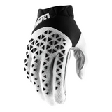 Gloves: 100% AIRMATIC SteelBlack/White
