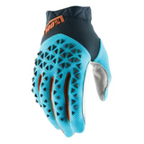 Gloves: 100% AIRMATIC SteelGrey/Blue