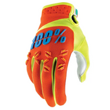 Gloves: 100% AIRMATIC Orange