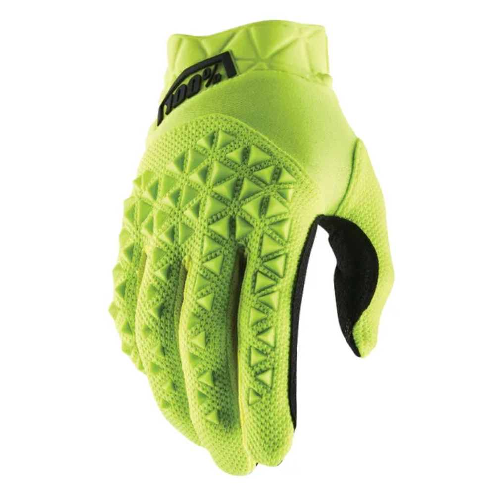 Gloves: 100% AIRMATIC FlouYellow/Black