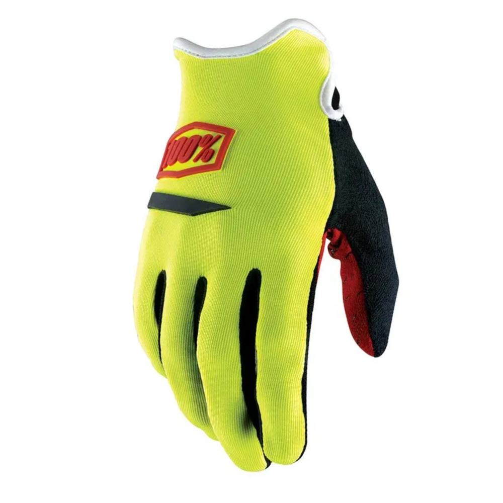 Gloves: 100% RIDECAMP Neon Yellow