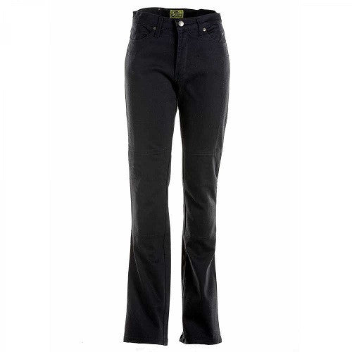 Pants: DRAGGIN CLASSIC Ladies Jeans Black