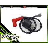 Electrical: THUMPSTAR IGNITION COIL FIXED TERMINAL Red