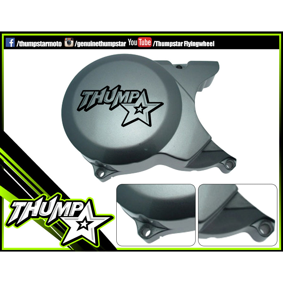 Engine: THUMPSTAR FLYWHEEL COVER OPEN