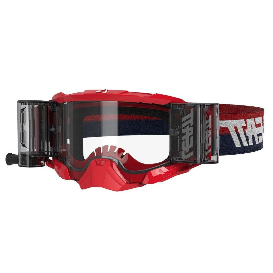 Goggles: LEATT GPX 5.5 VELOCITY ROLL OFF Red