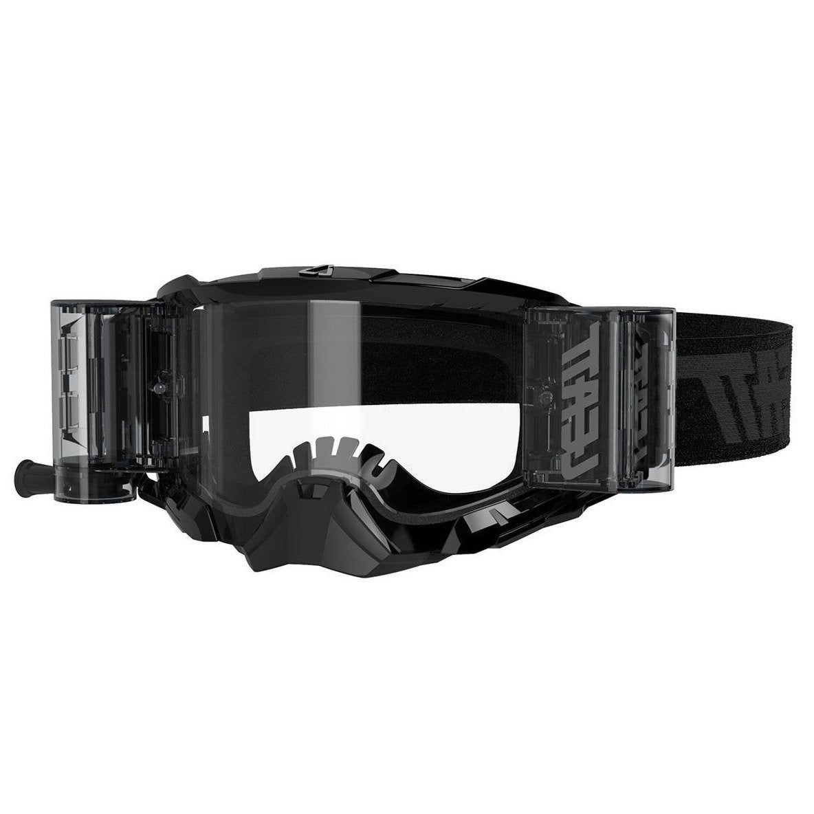 Goggles: LEATT GPX 5.5 VELOCITY ROLL OFF Black