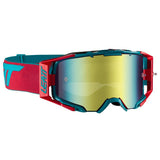 Goggles: LEATT GPX 6.5 VELOCITY IRIZ Red/Teal