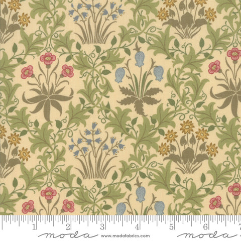 May Morris Studio 7341 11  Celandine 1896 Cream